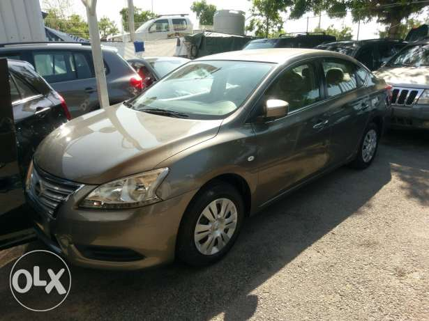 Nissan sentra 2013 fully loaded 42000 km like new