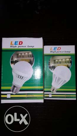 12W and 15W LED LAMPS,80% saving energy راس  بيروت -  1