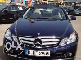 Mercedes E250 CGI Coupe´Avantgarde Panorama Blue EffIci. 2012 Germany