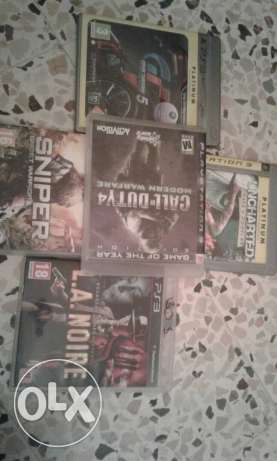 Ps3 games Very good condition
