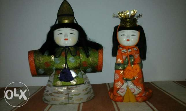 Japanese dolls for decoraton
