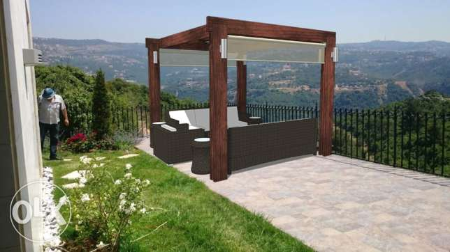 3D DESIGNER for your PERGOLA and outdoors انطلياس -  5