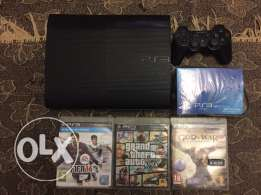 PS3 12gb and 3 games