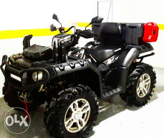 Polaris sportsman 850xp modified