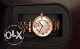Authentic Emporio jewelery watch for your lady on valentine