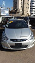 Hyundai Accent 2012 like new f.o silver