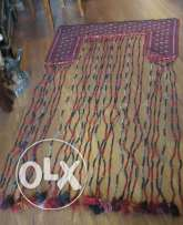 Old 210cm x 110cm wool handmade oriental Persian rug Unique carpet