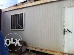 prefabricated office 6x3 used