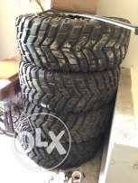 Mickey Thomson 37 inch offroad tires
