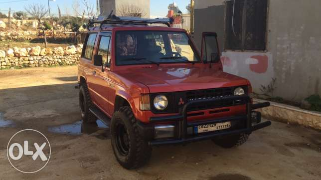 pajero 82 collection car for offroad ktiir ndif
