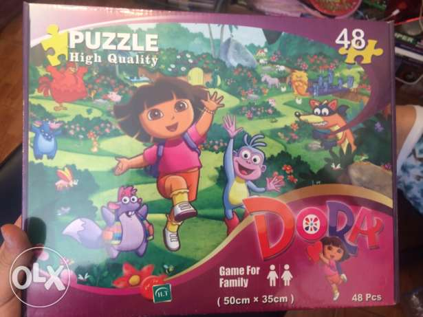 Brand New PUZZLE Dora the explorator High Quality( HQ) 45 pieces
