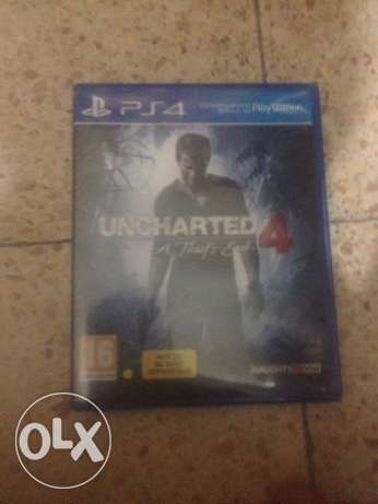 ps4 uncharted 4  trade مصيطبة -  1