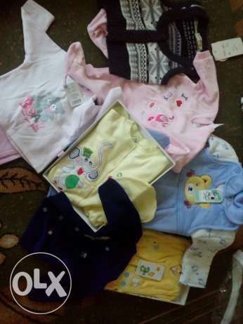 Baby clothes - new - 8-12$ each