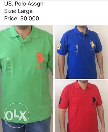 Original Us. polo Assgn men shirts