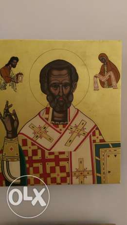 Saint nicolas icon