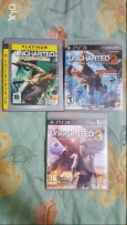 Ps3 used Uncharted 1+2+3