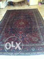 persian carpet over 50 years old