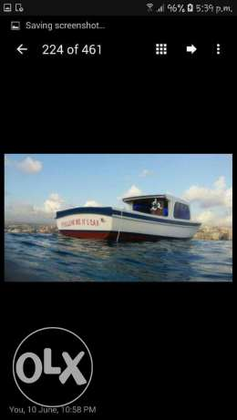 * FOR SALE Boat made of mogano wood قياع -  3