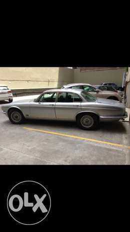 For Sale Jaguar XJ6 model 1974 collection car