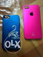 Two IPhone 5 covers
