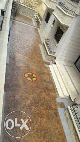 Stamped Concrete. We decorate indoor and outdoor.