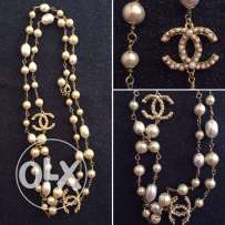 Chanel pearl necklace for sale