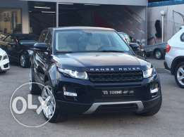 Range rover Evoque prestige 2012 blueblack on white GERMAN, FULL !!!