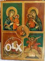 Russian wood icon