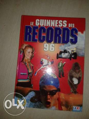 guiness des records 1996
