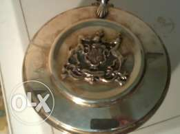 Old silver Cooker, with Big Seal Honore, Hand Made in Italy, 50$