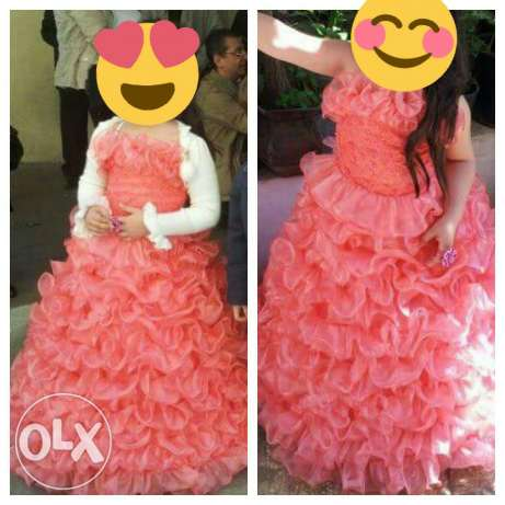 Beautiful dress for 7 and 8 years old