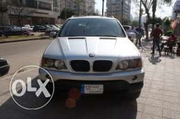 x5 silver/blk leather model2001 full options