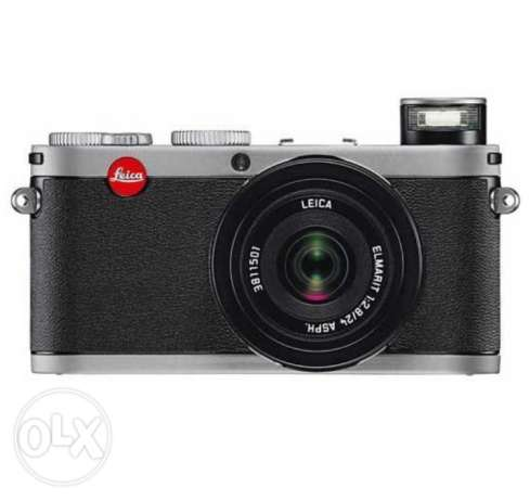 Leica x1 with view finder