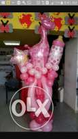 balloons arrangment