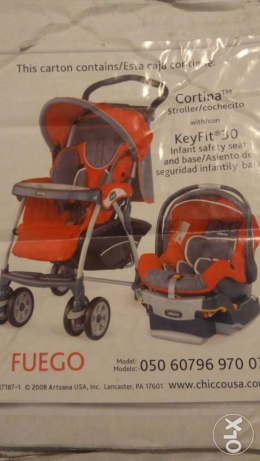 Chicco Stroller and Car seat 1