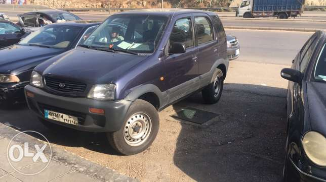 daihatsu terios mod 98 full option 4x4 شويفات -  2