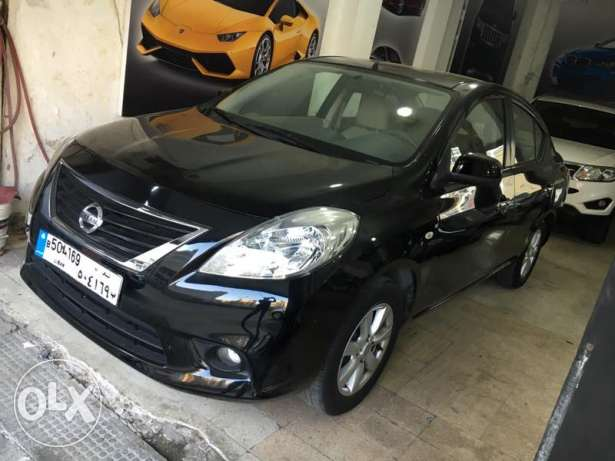 Nissan sunny sl model: 2013 full option