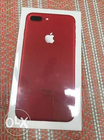 Iphone 7 plus red 256 GB