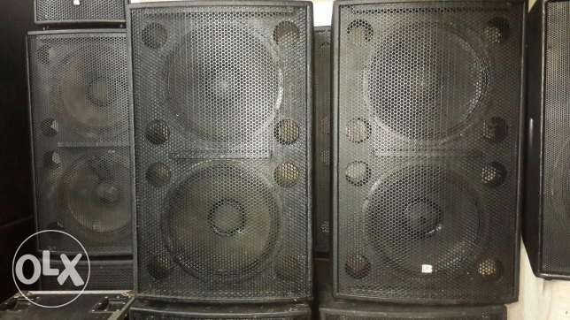 bass double 15 subwoofer