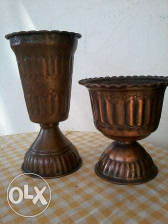 Antique copper Chalis, 50-70 years, from Germany, 30cm, each 20$
