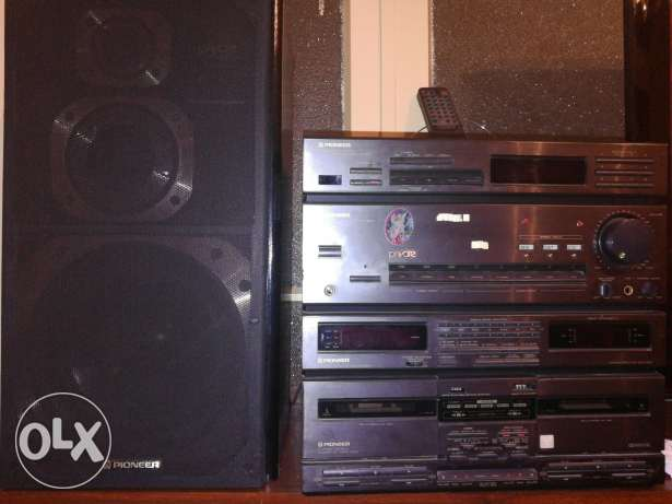 pioneer stereo system with audio cd