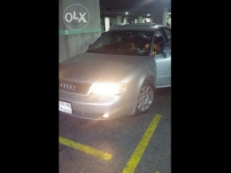 Audi A6 1998 in good condition for sale silver color