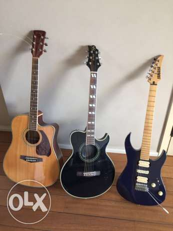 3 super guitars for sale