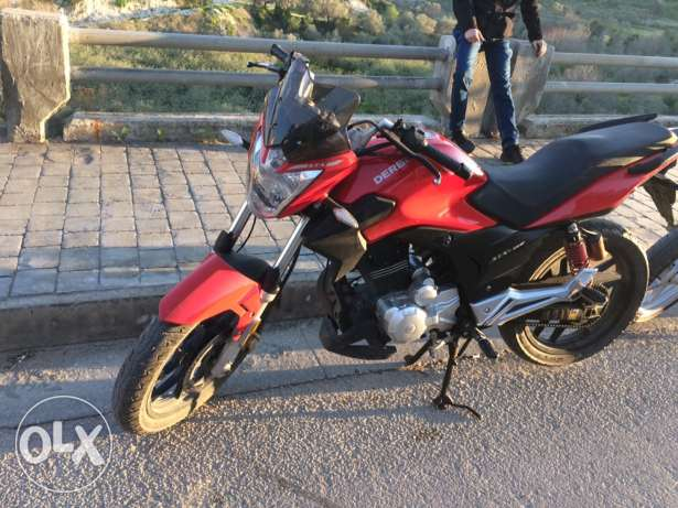 derbi stx very clean 150cc from mazda company 800$ final price 2014
