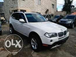 BMW X3 model 2008 full option clean carfax