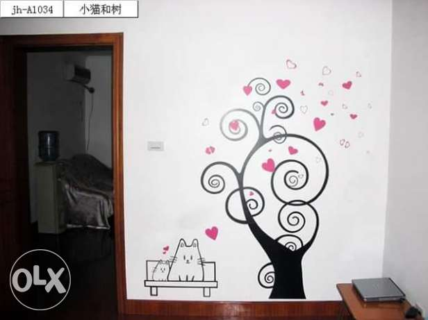 Wall stickers قرنة الحمرا -  1