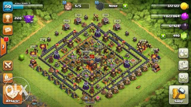 clash of clan price 600$