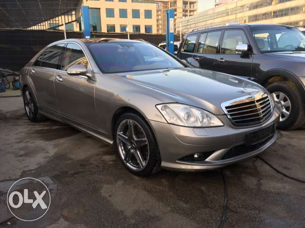 Mercedes S500 AMG Kit 2007 Panoramic Top of the Line!