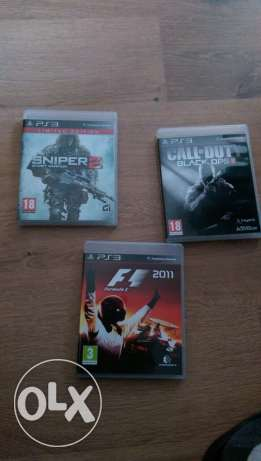 PS3 original games(almost brand new)