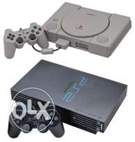 Any PlayStation 1 or PlayStation 2 CD/DVD are Available